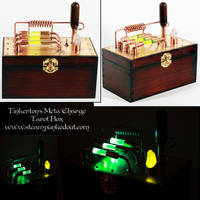 Tinkerton's Green Meta-Charge Tarot Box by Steampunked-Out