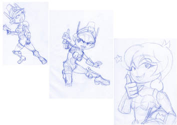 Sketch: Mighty Switch Force by SirElectricPants101