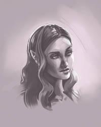 Elfgirl Person by DU57Y