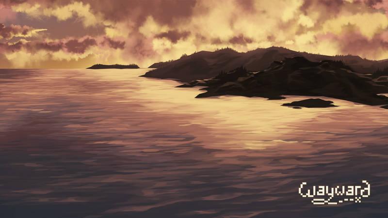 Wayward Win Screen by DU57Y