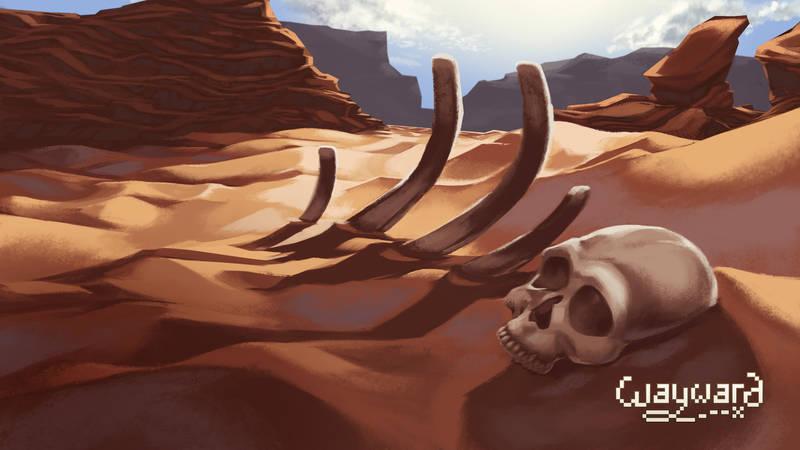 Wayward Death Screen by DU57Y