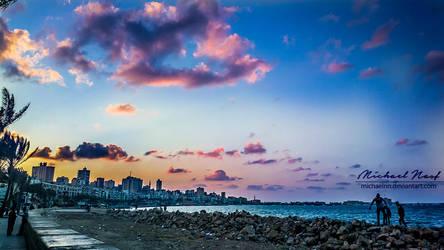 Colourful Sky II by MichaelNN