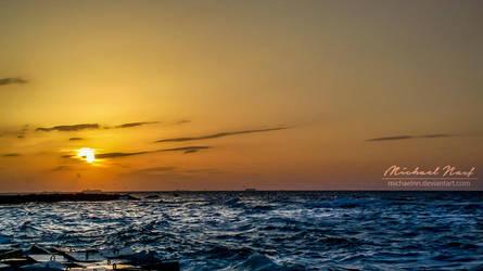 Warm Sunset by MichaelNN