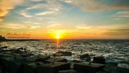 Amazing Sunset by MichaelNN