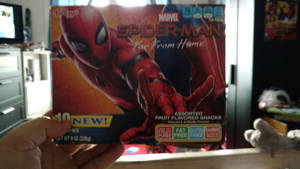 Spider-Man Far From Home Fruit Snacks Box by OtakuDude83