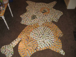 Cubone (Pokemon Card Collage) by PlusleThePokemon04