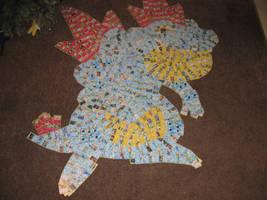 Feraligatr (Pokemon Card Collage) by PlusleThePokemon04