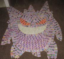 Gengar (Pokemon Card Collage) by PlusleThePokemon04