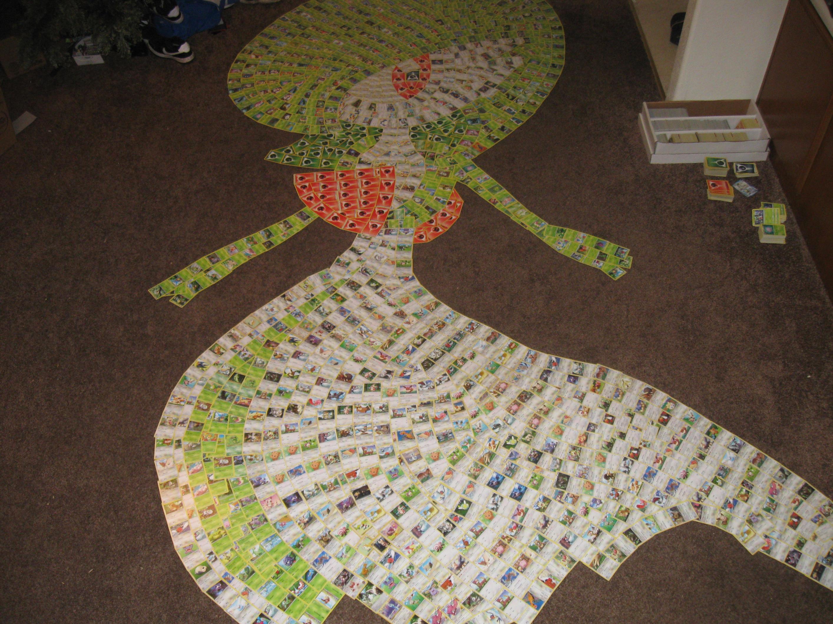 Gardevoir (Pokemon card collage) by PlusleThePokemon04