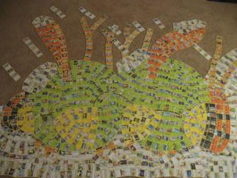 Natu (Pokemon Card Collage) by PlusleThePokemon04