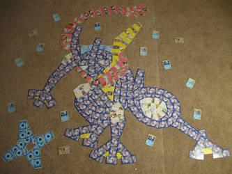 Greninja (Pokemon Card Collage) by PlusleThePokemon04