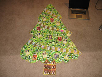 Christmas Tree Pokemon Card Collage (Update) by PlusleThePokemon04