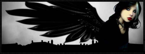 :Angel of Shadow: :3200x1200: by thedreamwithin