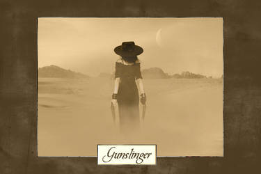 .:: Gunslinger ::. by thedreamwithin