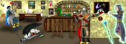 Red Raven Tavern by KainTheGreatVampire