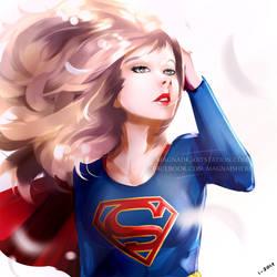 SuperGirl FanArt by MagnaDk