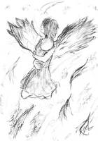 Broken wings by RoseOmega