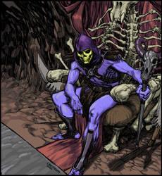 Skeletor - cel shaded by Laemeur
