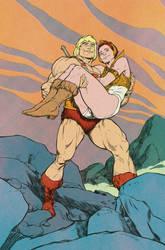 He-Man, Teela TPWP by Laemeur