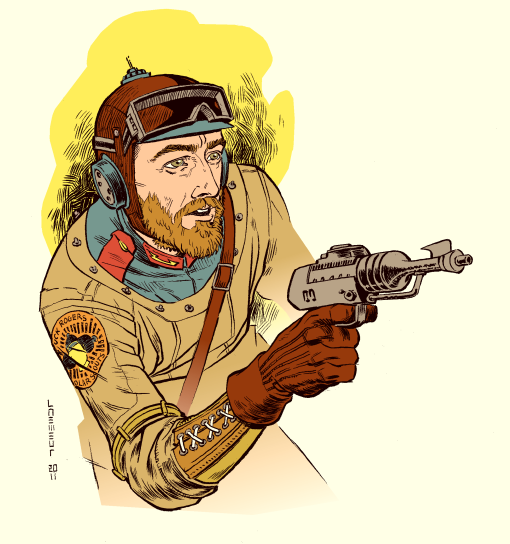 Buck Rogers Solar Scout by Laemeur