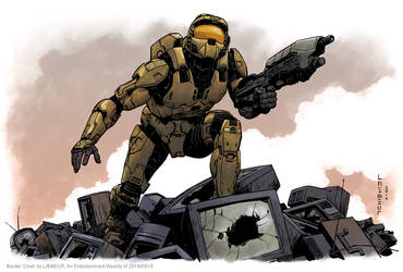 Master Chief by Laemeur