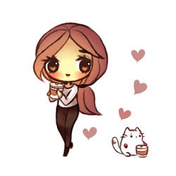 Coffee Kitty by mochatchi