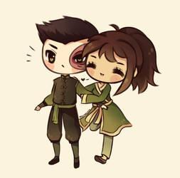 Zuko and Jin by mochatchi