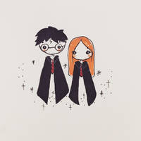 Harry and Ginny by mochatchi