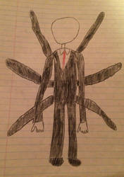 Slender Man by Catriona456