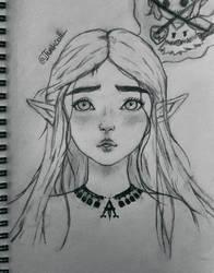 Princess Zelda  by Junkcoll
