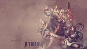 SMITE - Athena, Goddess of Wisdom by Shlickcunny