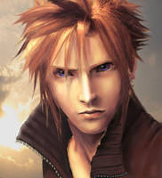 cloud strife by T3V