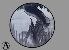 Xenomorph by SpamBusta
