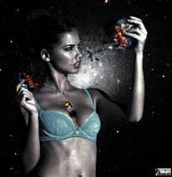 Giga Goddess Adriana Lima - Planet Killer by GiantessStudios101