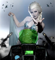 Mega Giantess Elsa - Come Here by GiantessStudios101