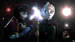 Frozen Giga Goddesses - Be Careful Anna by GiantessStudios101