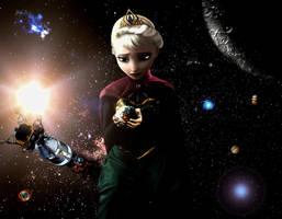 Giga Giantess Elsa - Houston You Have A Problem by GiantessStudios101