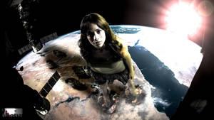 Giga Giantess Dania Ramirez Exospheric Encounter by GiantessStudios101