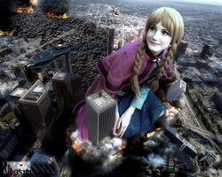 Giantess Princess Anna - Settling In Los Angeles by GiantessStudios101