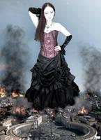 Goddess Amarie Tinuviel - Upheavel in Rome by GiantessStudios101