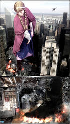 Giantess Princess Anna - Subterranean Crush by GiantessStudios101