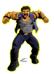 BASH cavalcade character 9 by monkey-xuk