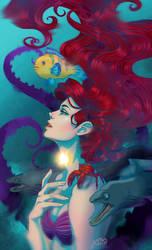 Ariel voice by 0Aqua-Mermaid0
