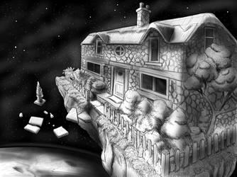 Floating space house by RichardLittlewood