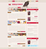 World Comics magazine by RadziuPL