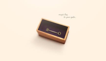 Magic key by RadziuPL