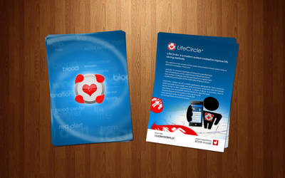 LifeCircle+ leaflets by theOrzel