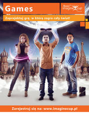 Imagine Cup 2013 Poland - Game poster by theOrzel