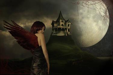 Red Angel by frizuravarju