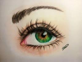 Eye by frizuravarju
